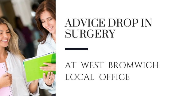 Advice Drop in Surgery